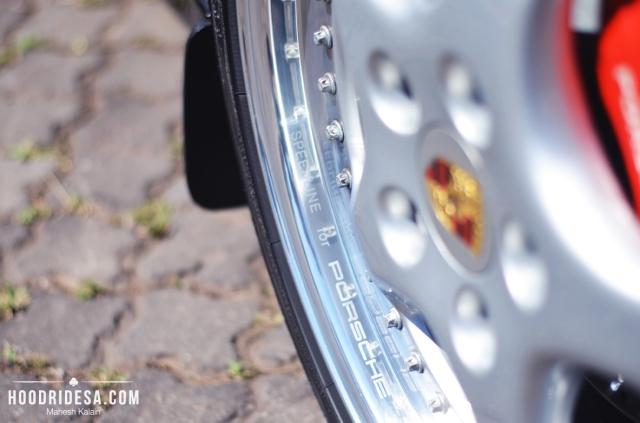 14 wheel close up